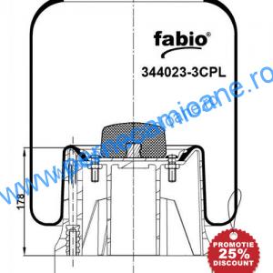 Perna-aer-SAF-cod-164023-3C-KG4023-3NC-cu-piston-metalic