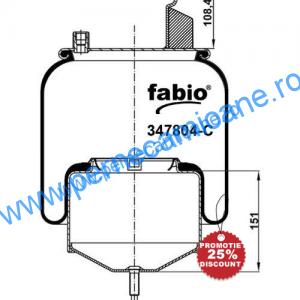 Perna-aer-VOLVO-cod-167804-C-cu-piston-metalic